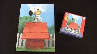 The Peanuts Movie Snoopy Hugs Woodstock Puzzle from Ceaco