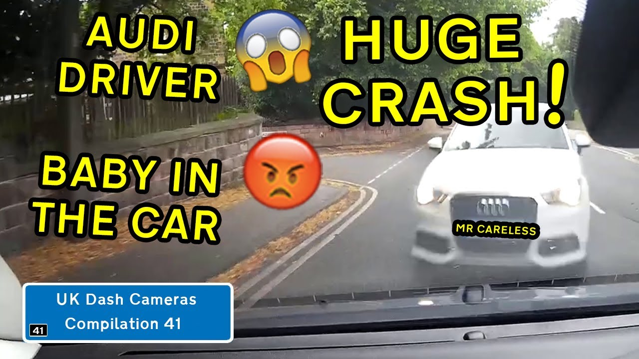 UK Dash Cameras - Compilation 41 - 2020 Bad Drivers, Crashes + Close Calls