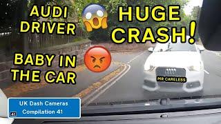 UK Dash Cameras - Compilation 41 - 2020 Bad Drivers, Crashes + Close Calls