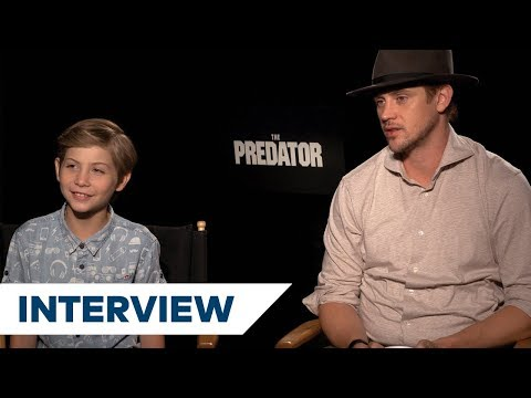 Jacob Tremblay & Boyd Holbrook On Why  Of The Original Will Enjoy The Predator  TIFF 2018