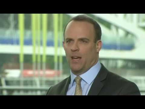 "Dominic Raab's ""pocketbook of reasons"" for Brexit"