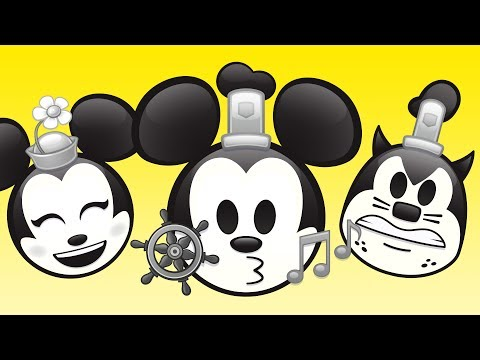 Steamboat Willie As Told By Emoji | Disney