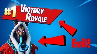 Evil Victory Royale! New Krampus Skin! | Fortnite Battle Royale