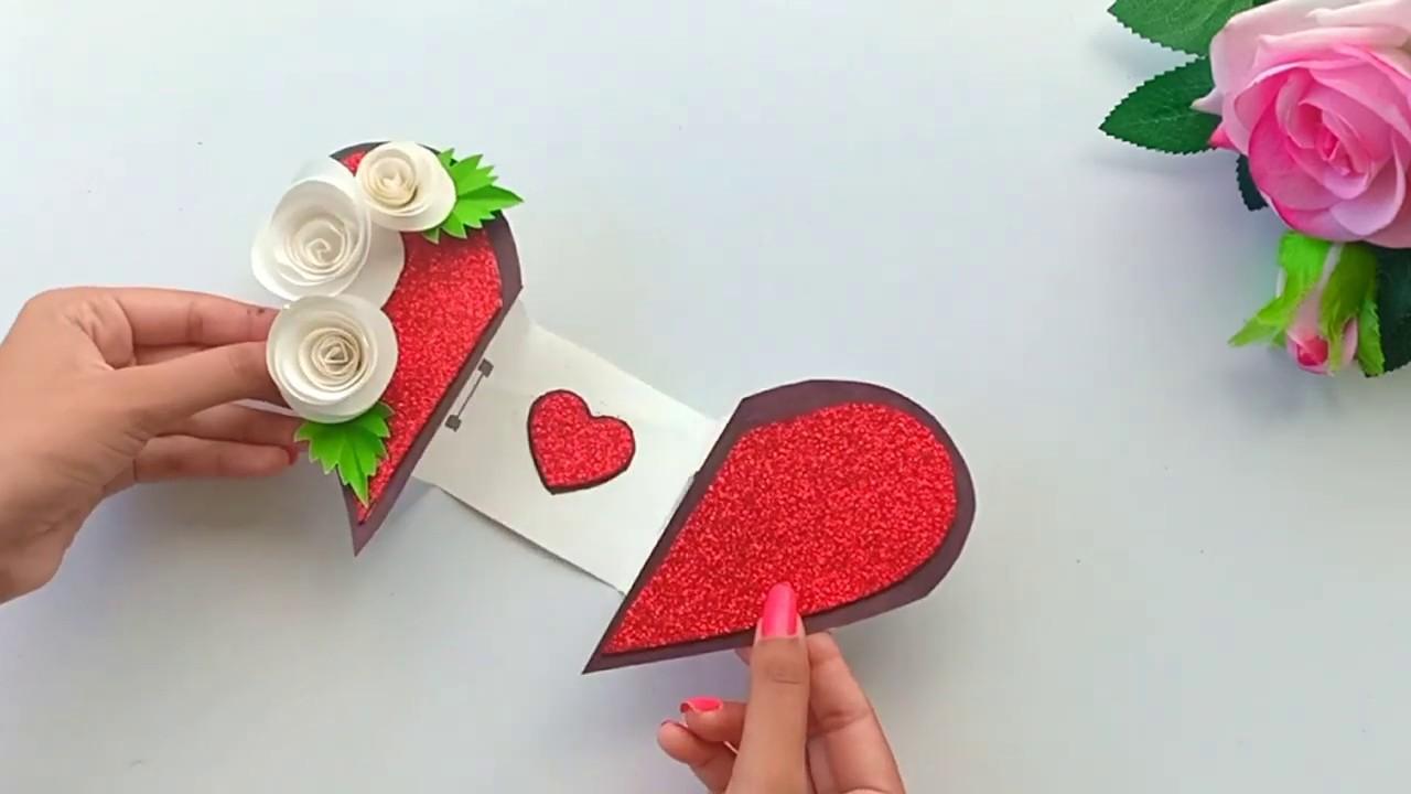 Beautiful Handmade Birthday Card for Boyfriend | How to ...