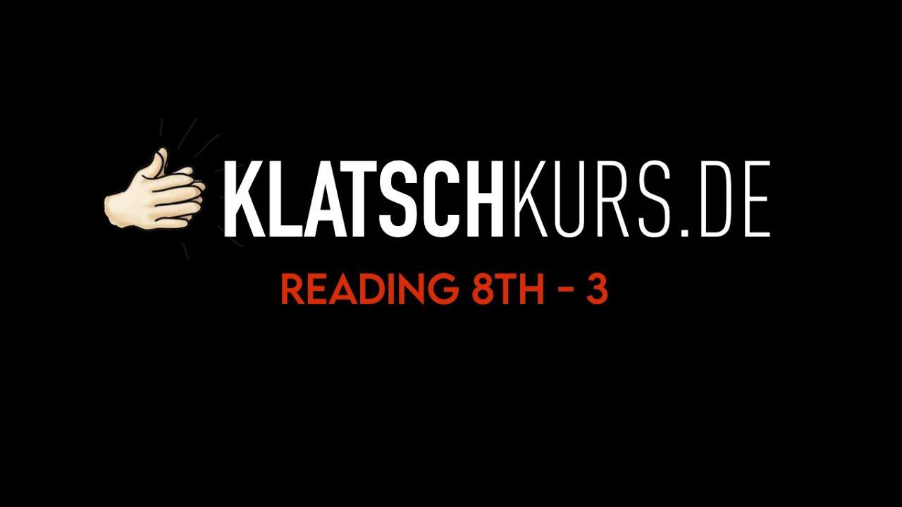 Reading 8th 3, 112bpm, Full - Klatschkurs - Rhythm Reading - by Kristof Hinz
