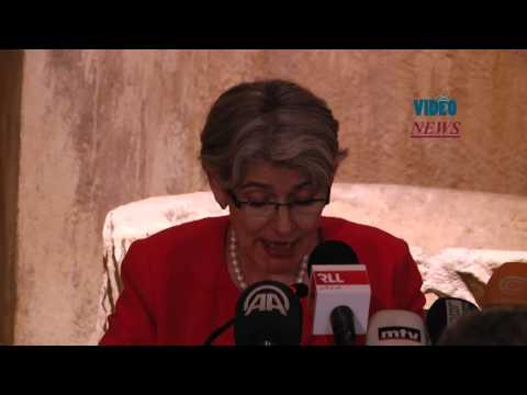 Unesco General Director Irina Bokova in Lebanon