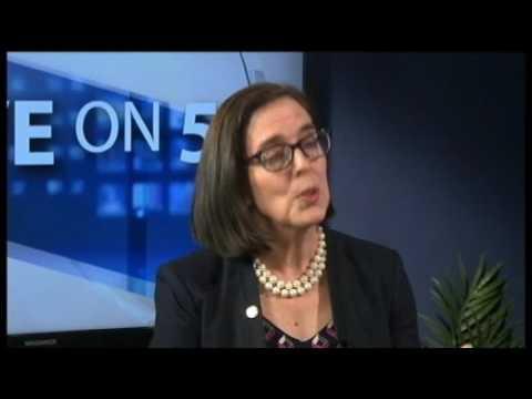 Five on 5   Oregon Governor Kate Brown