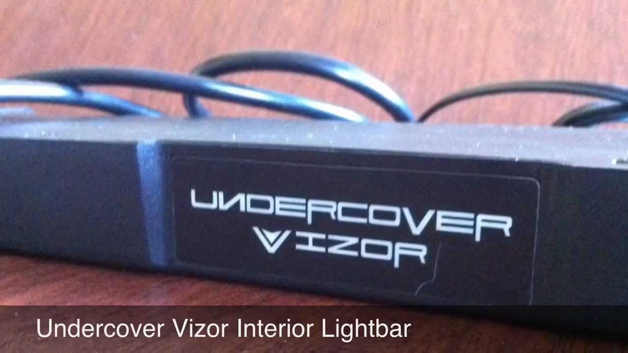 Undercover vizor interior lightbar advancedwarninglights undercover vizor interior lightbar advancedwarninglights youtube aloadofball Gallery