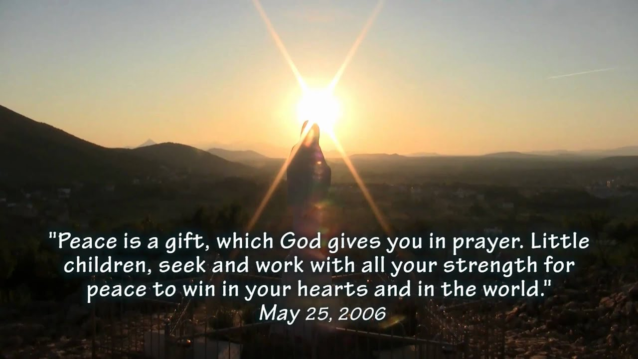 Bible Quotes Wallpaper Hd The Miracle Of Medjugorje 5 Of 5 Youtube
