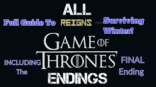 Reigns Game of Thrones ALL 10 ENDINGS! - Including The FINAL Ending | Full Guide screenshot 5