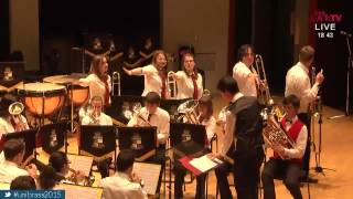 Greased Lightning - Cambridge at UniBrass 2015
