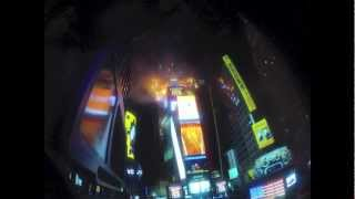 Times Square New Year& 39 s Ball Drop 2013