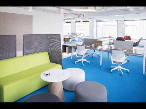 Flexible Office Space Design Furniture - YouTube