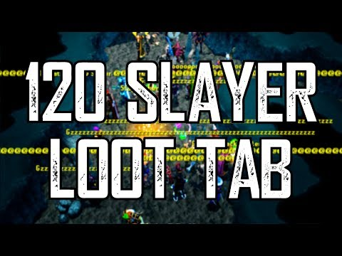 Runescape - Loot From 120 Slayer!