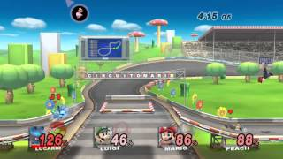 "Super Smash Bros Brawl PC ""Gameplay"" Modo Clasico"