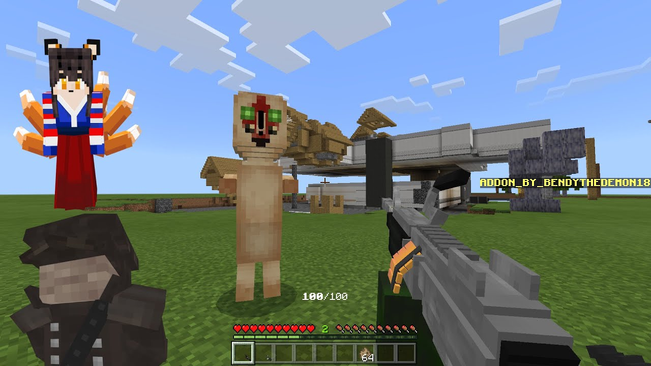 Review my NEW SCP addon (mod) Minecraft PE (download link in the