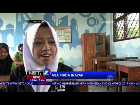 Siswi SMA yang Menjadi Viral Karena Tulisan  - NET12