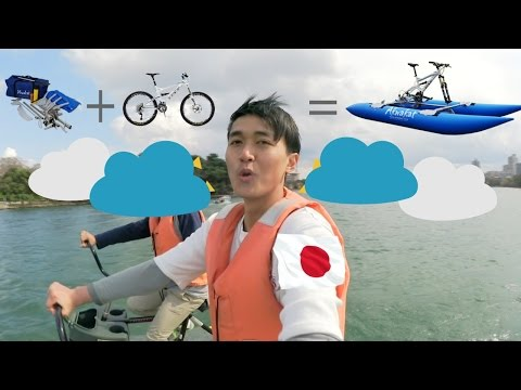 Sepedahan di Atas Air?! Ohori Park #fuokavlog