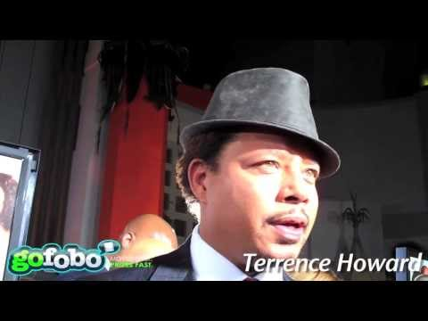 Best Man Holiday LA Premiere  Terrence Howard Quentin