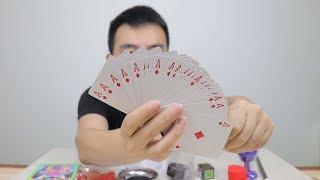 22块钱买了14款魔术小道具,原来所有的牌都是一样的