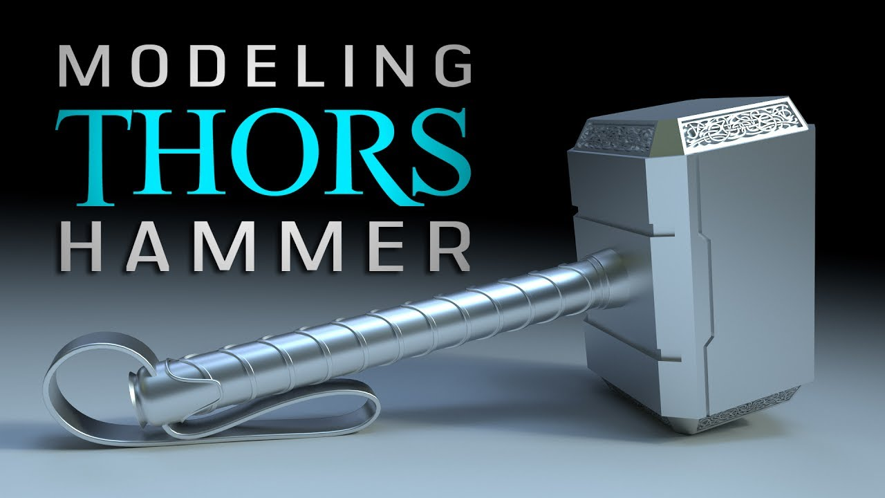 thor s hammer part 1 blender for beginners youtube