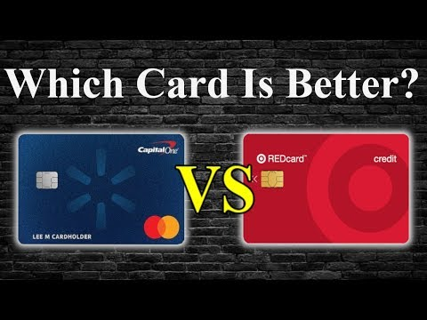 Best Store Cards | Walmart Credit Card Vs Target Credit Card