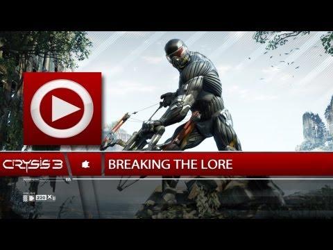 (SOG) Breaking The Lore / All Intel Locations (plus navigation) - Unlock (CRYSIS 3)