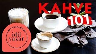 Kahve Nasıl Yapılır ☕ ♨️   Kahve 101 Filtre Kahve Espresso Latte ve Espresso Macchiato Tarifleri