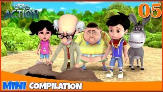 Vir The Robot Boy | Mini series | Compilation - 05 | 3D cartoon for kids | WowKidz Action