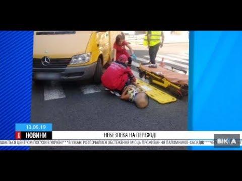 ТРК ВіККА: Небезпека на «зебрі»: у Черкасах середодня збили двох жінок