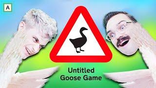 SLIK BLIR DU EN OND GÅS *HONK* - Untitled Goose Game