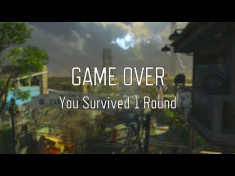 All Treyarch Zombies Game Over Songs | Black Ops 1-4 Game Over Music Montage (Aether Storyline)