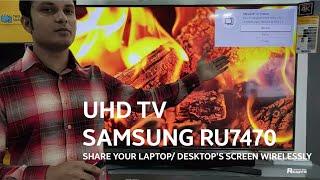 Wireless Screen Sharing on Sam…