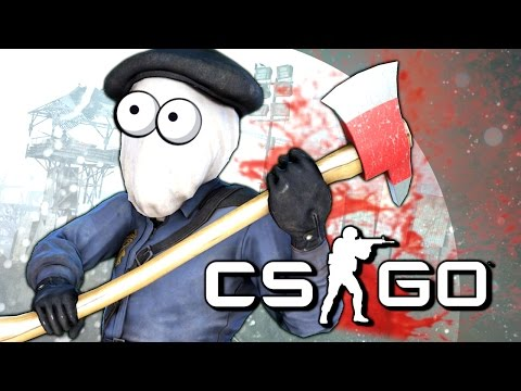 МАНЬЯК-ГОДЗИЛЛА! - CS:GO (Мини-Игры)