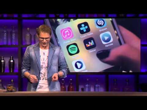 Fragment Zusje app bij RTL Late Night