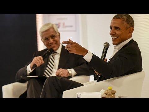 HTLS: Barack Obama on Modi, dal and Twitter
