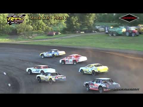 Stock Car Heats - Rapid Speedway - 7/20/18