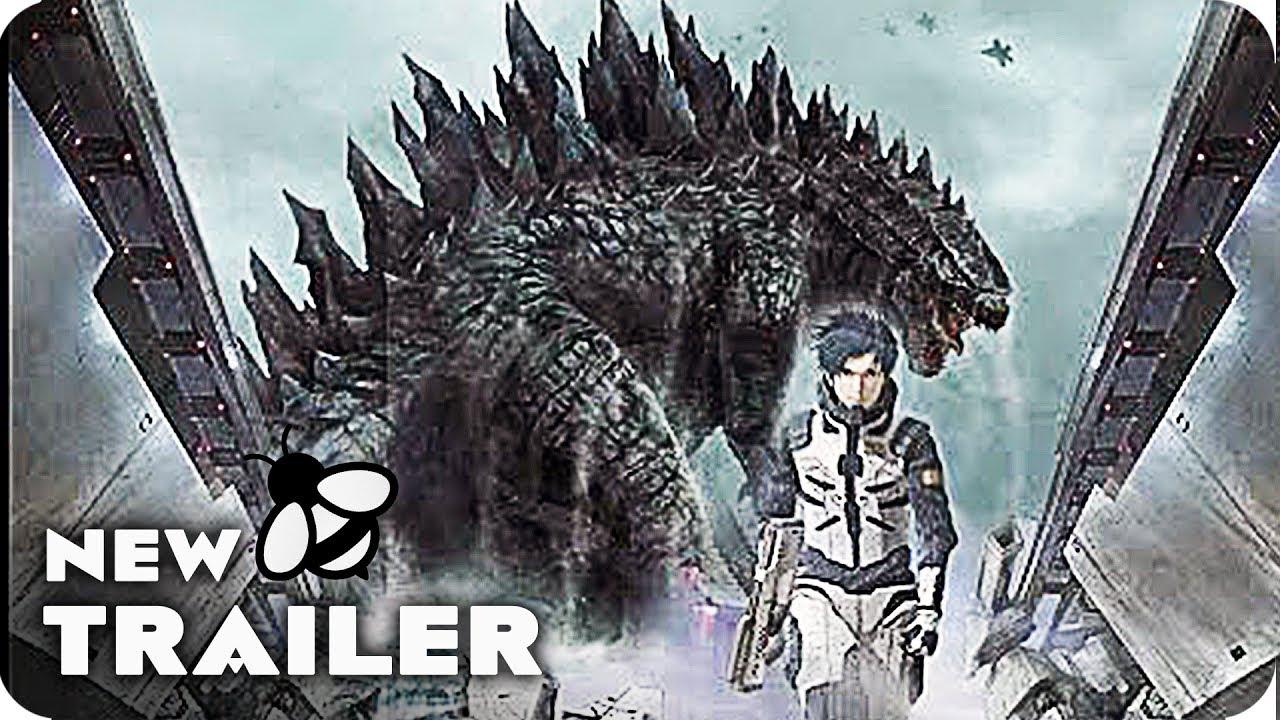 Download GODZILLA MONSTER PLANET Teaser Trailer (2017) Japanese Anime Movie