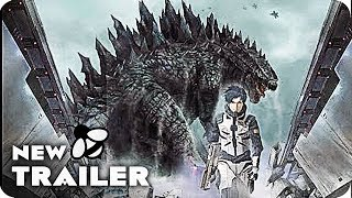 Godzilla monster planet teaser trailer (2017) japanese anime movie
