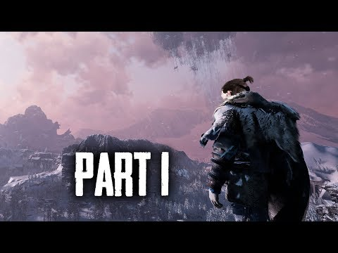 FADE TO SILENCE Gameplay Walkthrough Part 1  SURVIVING THE WINTER