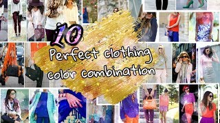 10 perfect clothing color combination