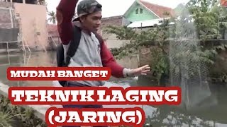Video MANCING IKAN PAKE TEKNIK LAGING (JARING) GILEE GAMPANG BANGETT!!!!! download MP3, 3GP, MP4, WEBM, AVI, FLV September 2018