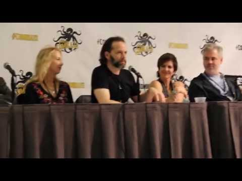 Peter Parker voice actor for Spider-Man The Animated Series at Comikaze 2014