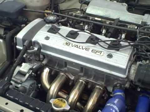 1995 toyota tercel engine diagram 2018 jeep jl wiring corolla 7afe 4afe installed 1994 - youtube
