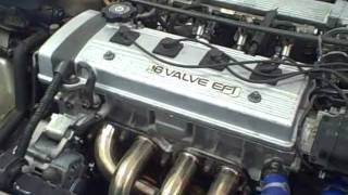 Toyota Corolla Engine 7afe installed