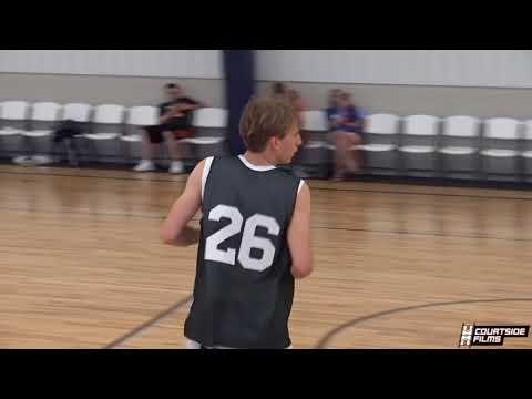 2022 Drew Brown (Clarinda, IA) Highlights From Courtside Films June Camp!