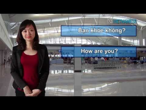 Dạy tiếng Việt cho người nước ngoài - Bài 1: Cách chào hỏi