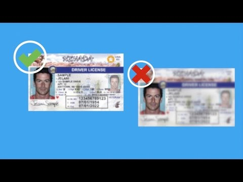 Youtube Compliant - Driver's Real Licenses Are Which Id