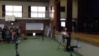 和歌山市立紀伊中学校校歌 30年ぶりの斉唱!
