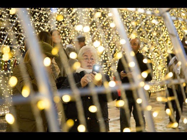 VÍDEO: Ya es Navidad en Lucena. Inauguración del Belén y alumbrado navideño